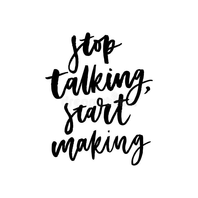 Croyez en vous-même le slogan positif de motivation de typographie avec le skecth de tournesol de marguerite dessinant le slogan  illustration de vecteur