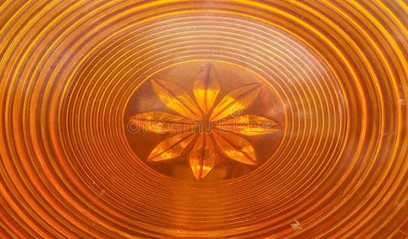 Cru circulaire de lumière orange d'anneau, rétro style de rond orange ovale ?toile orange images libres de droits
