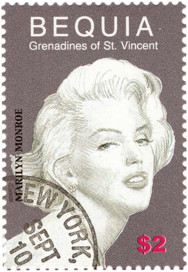 cru d'estampille de Monroe image stock
