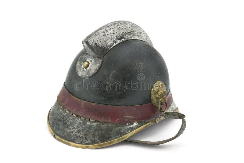 cru de casque de pompier image libre de droits