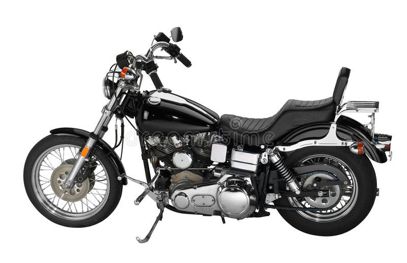 Cru Motorbike photographie stock