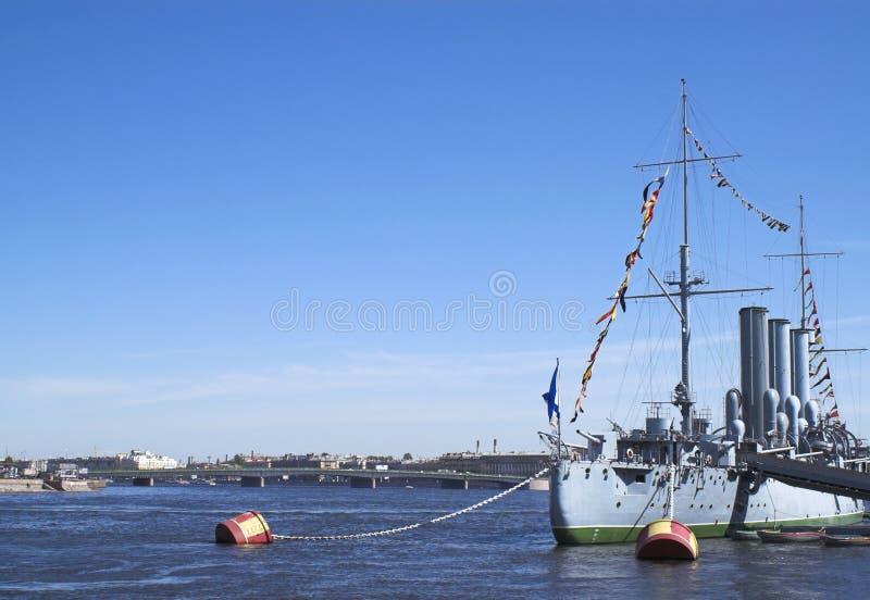 Crucero de la aurora imagen de archivo libre de regalías