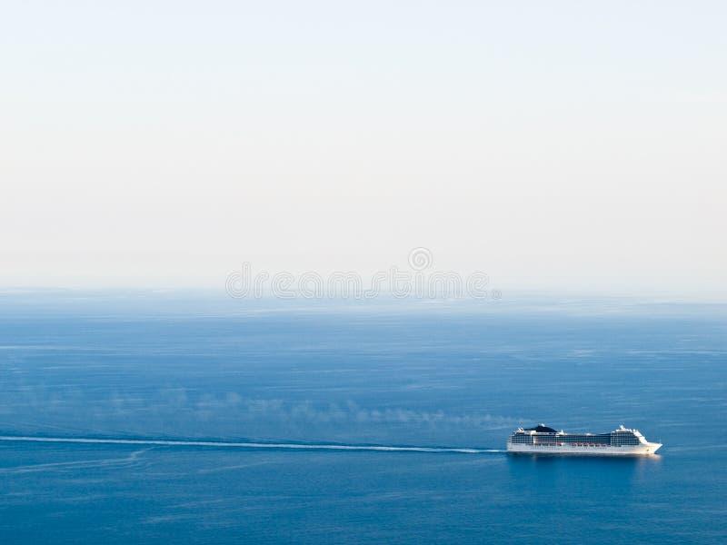 Crucero - mar adriático foto de archivo