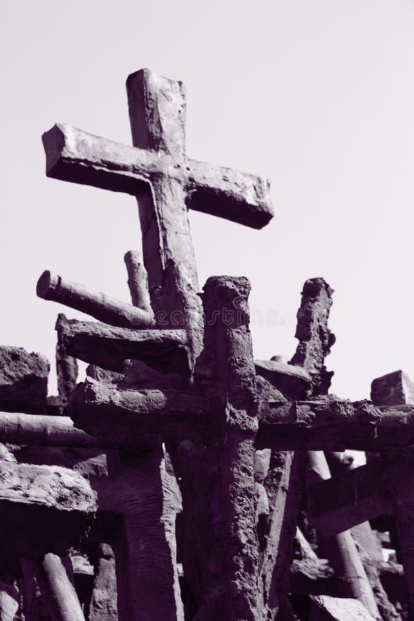 Cruces foto de archivo libre de regalías