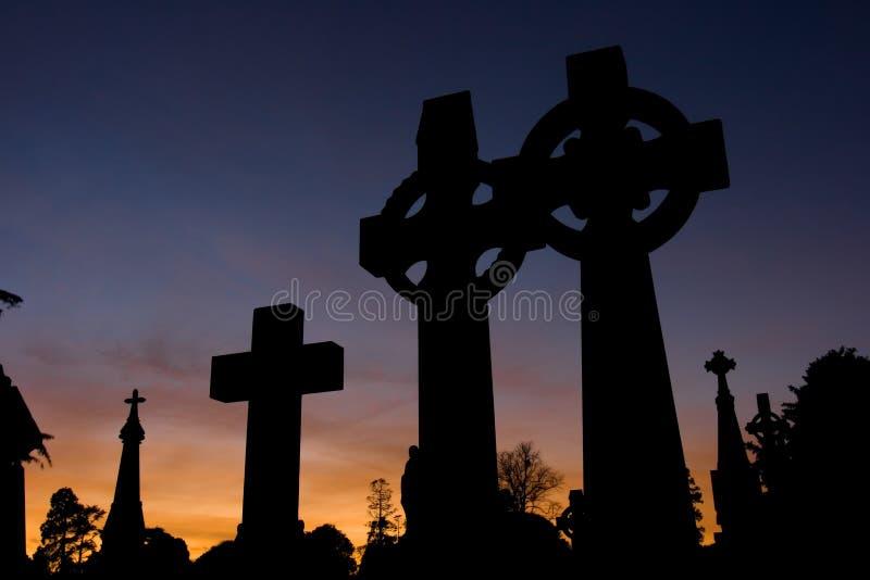 Cruces célticas fotografía de archivo