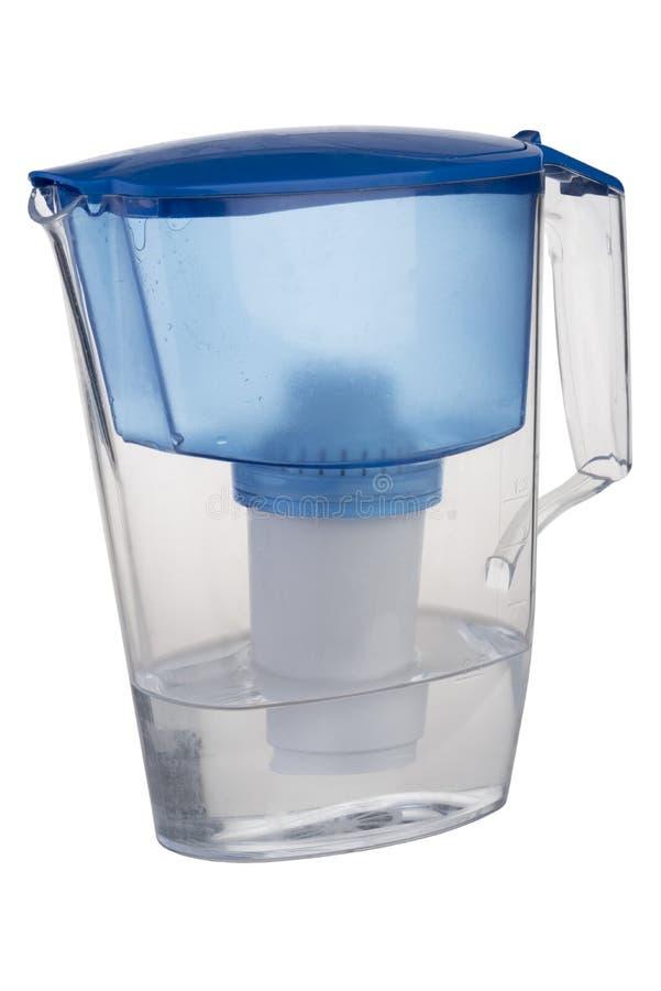 Cruche d'eau de filtre images stock