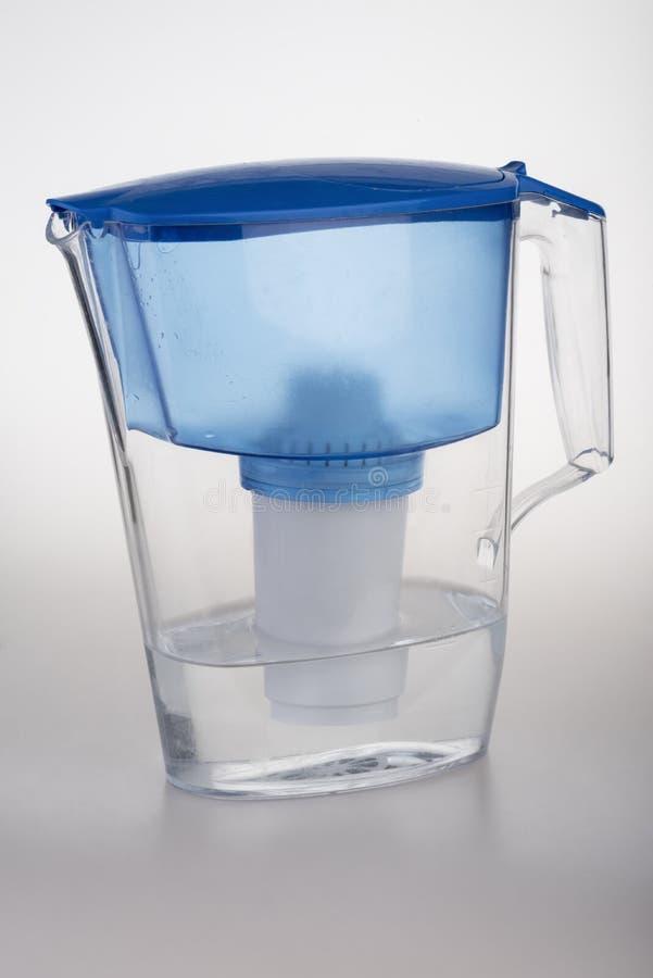 Cruche d'eau de filtre photo libre de droits