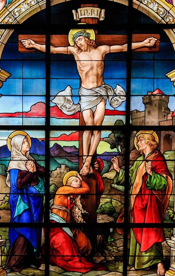 A crucificação, Éstocolmo fotos de stock