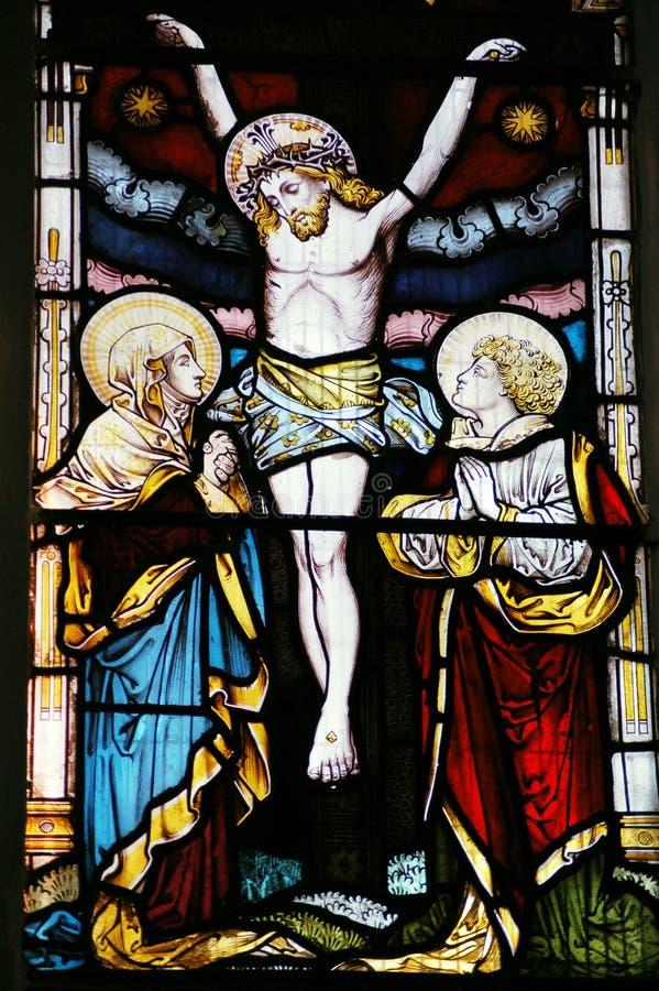 Crucificação imagens de stock royalty free