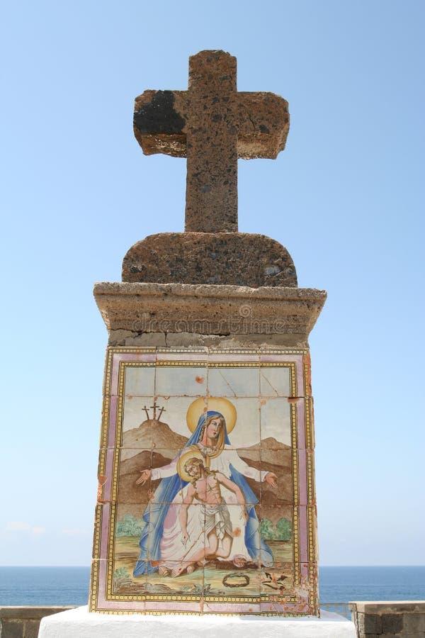 Crucificação. fotografia de stock
