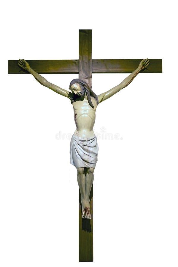 Crucificação de Jesus fotos de stock royalty free