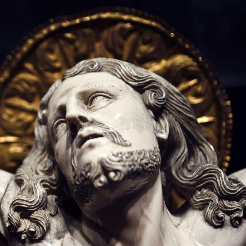 Crucificação do Jesus Cristo fotos de stock royalty free