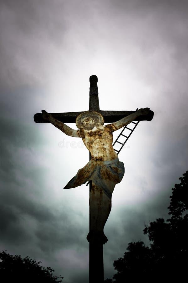 Crucificação do monumento fotos de stock royalty free