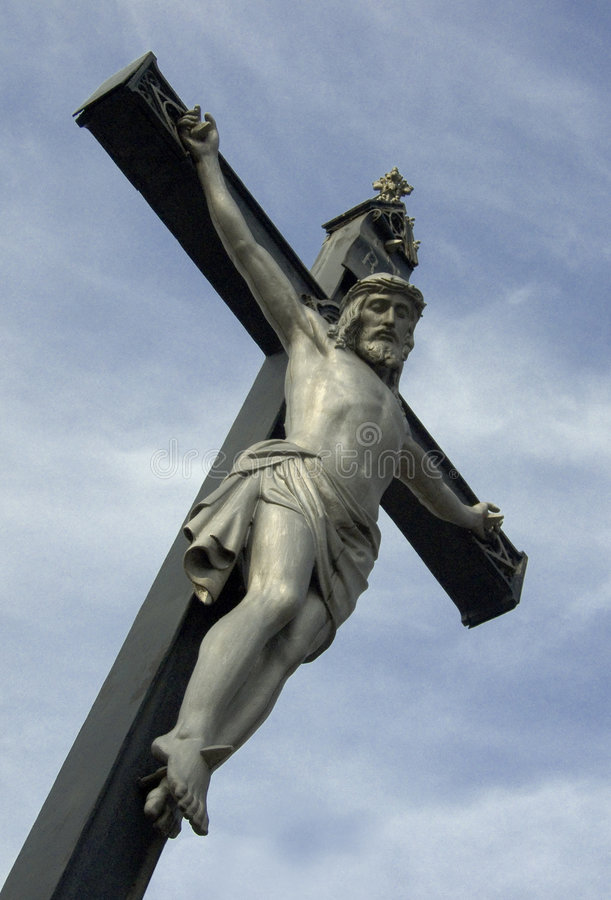 Crucifiction royalty free stock photo