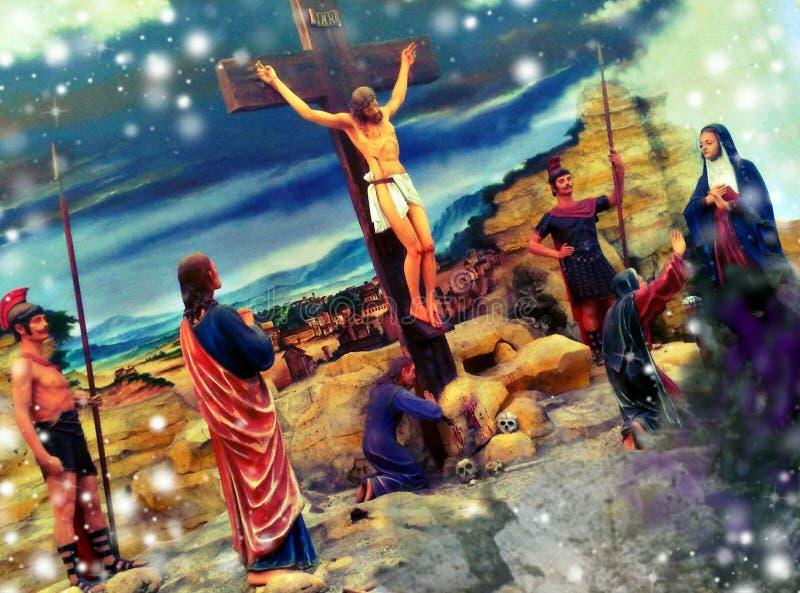 crucified lizenzfreies stockfoto