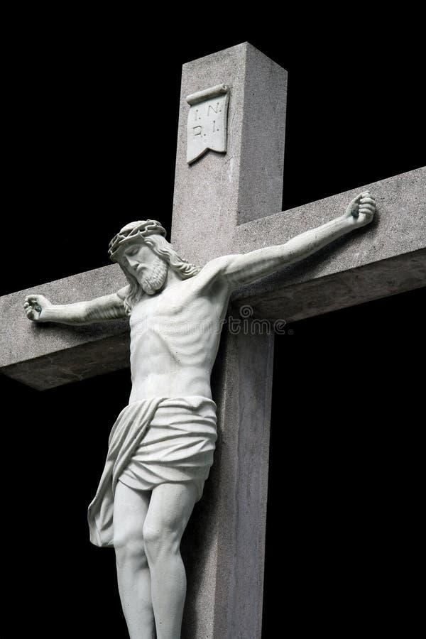 Crucified Jesus Stockfotos