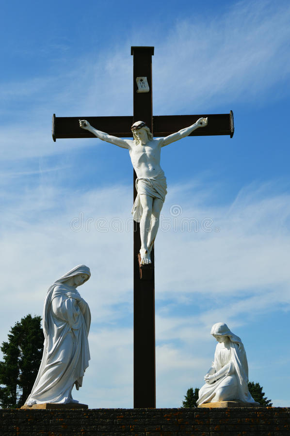 The Crucified Lord royalty free stock image
