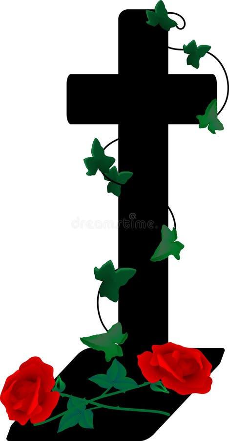 Crucifijo stock de ilustración