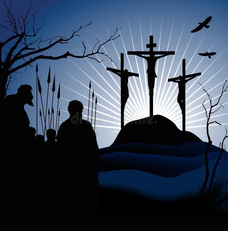Crucifissione royalty illustrazione gratis