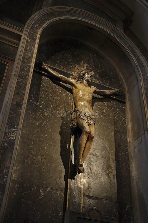 Crucifissione immagine stock