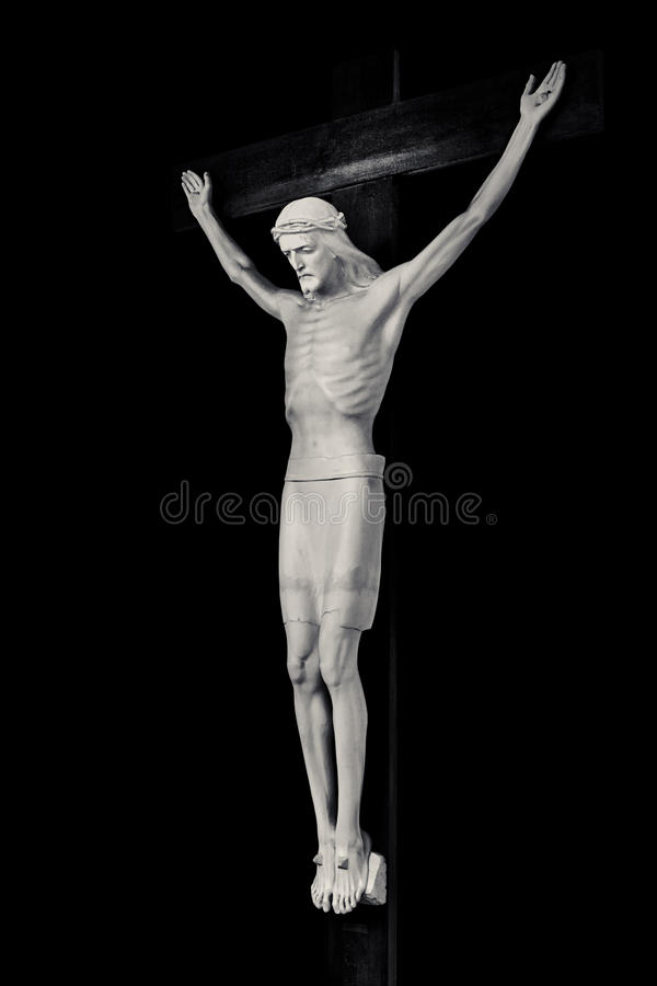 crucifix Ιησούς Χριστού στοκ εικόνες