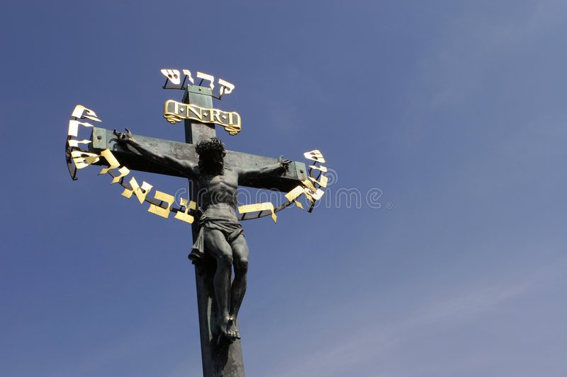 Download Crucifix stock photo. Image of golden, remembrance, christ - 225750