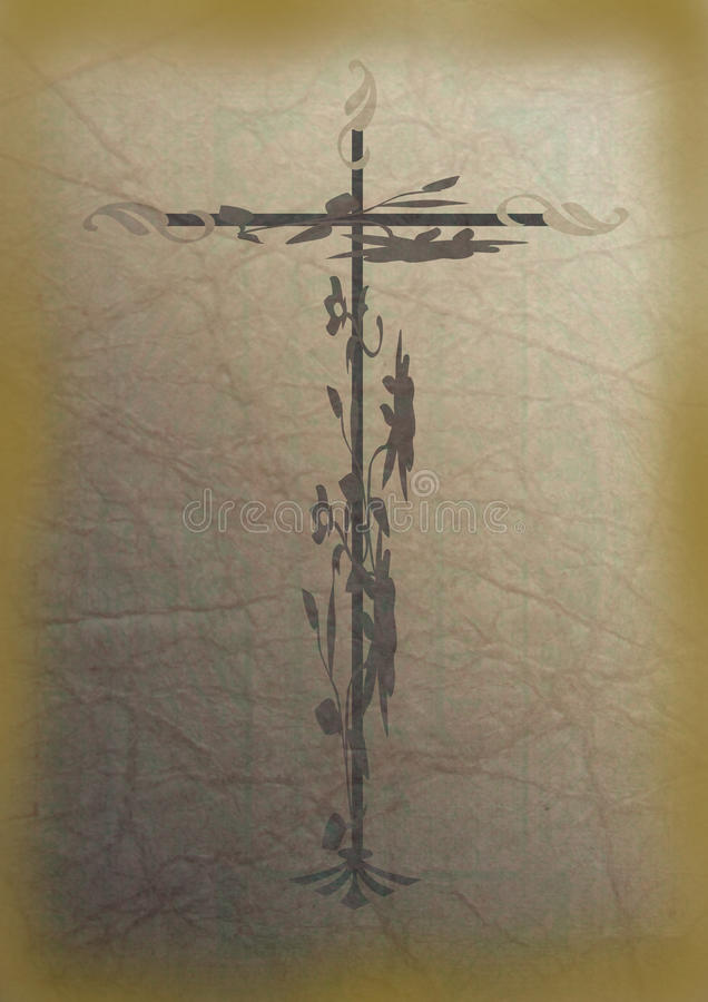 Download Crucifix stock illustration. Image of altar, confirmation - 22870625