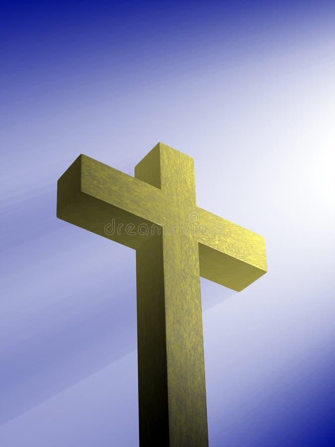 crucifix vektor illustrationer