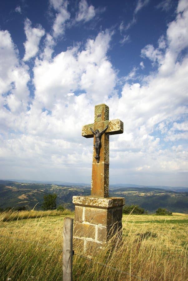 Crucifix I stock photos
