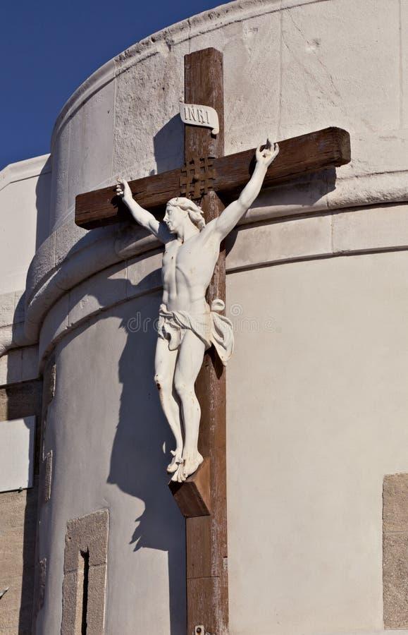 Crucifix, Marselha fotografia de stock