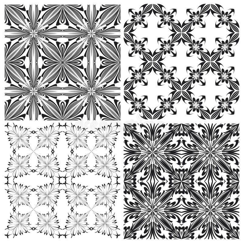 Download Crucifix pattern Set stock vector. Image of motif, arabesque - 34073512