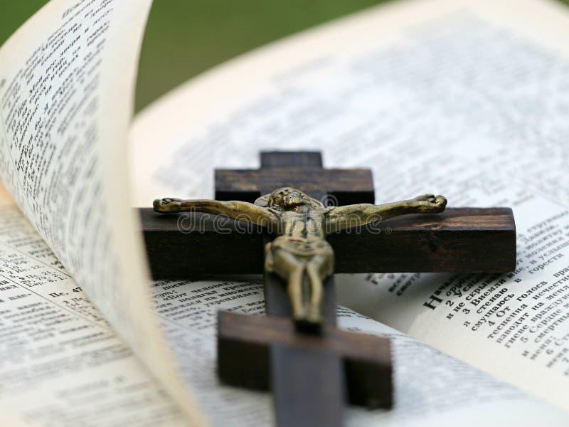 Crucifix On Top Of Bible Free Public Domain Cc0 Image