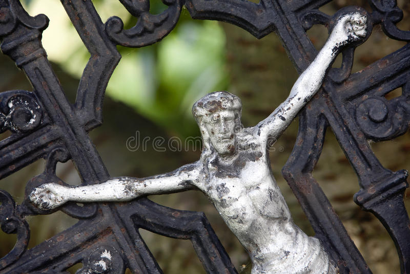 Crucifixión foto de archivo