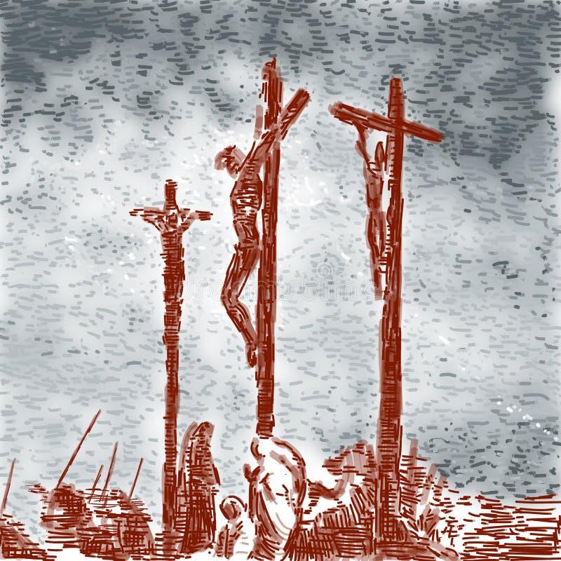 Crucifixión libre illustration