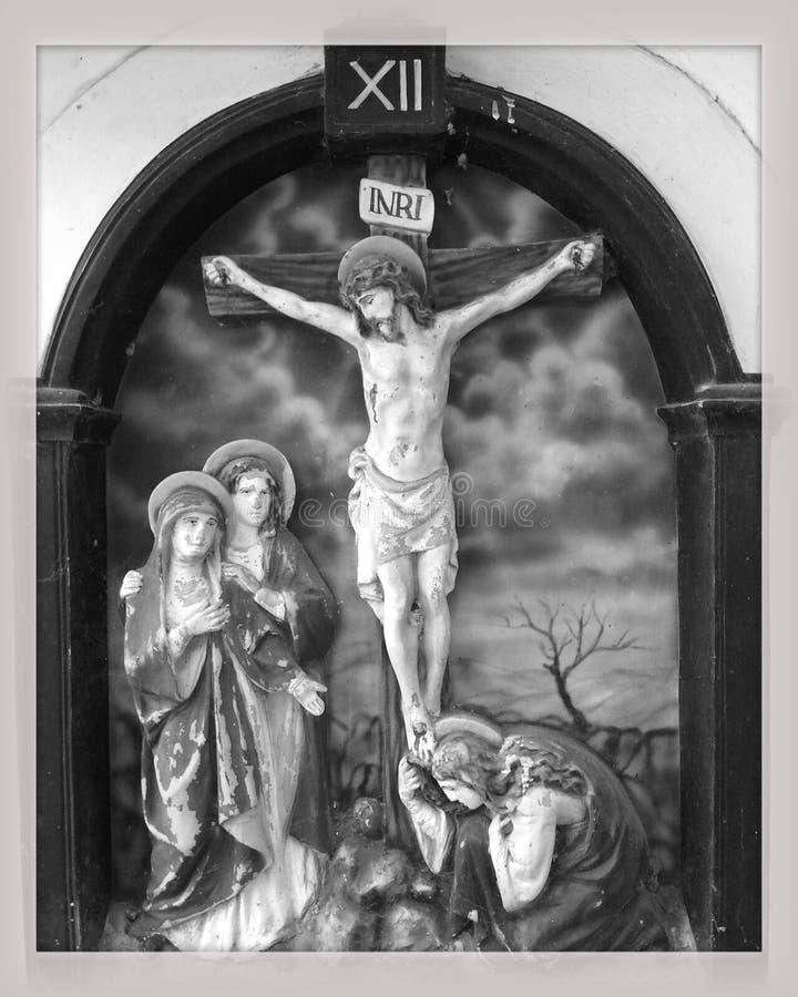 Crucifixi?n de Jes?s foto de archivo