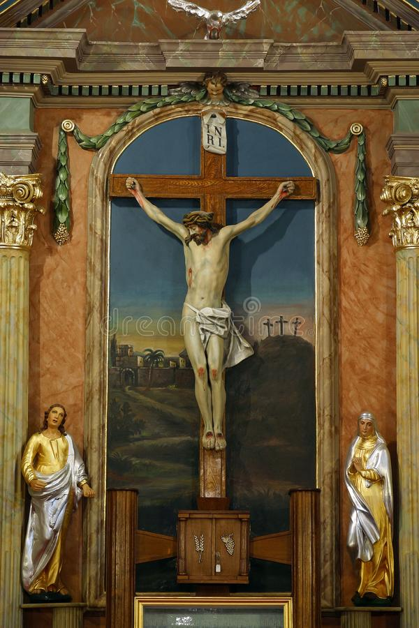 crucifixion stockfoto