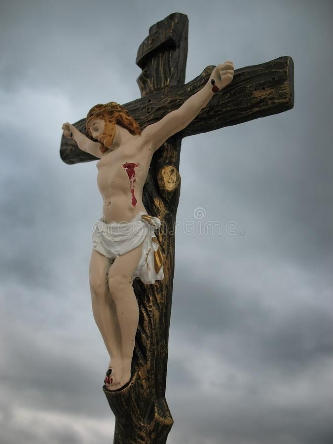 crucifixion lizenzfreie stockfotos