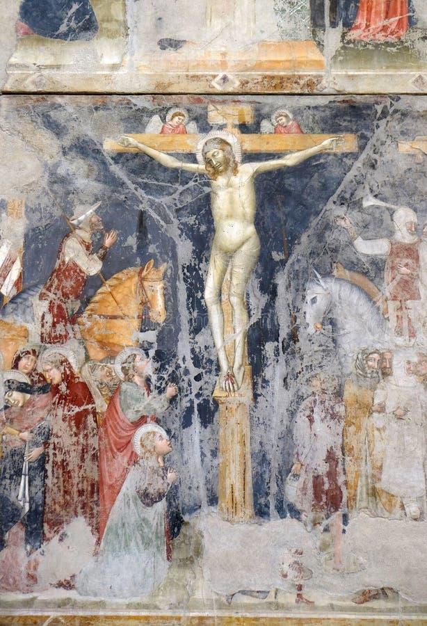 crucifixion imagen de archivo