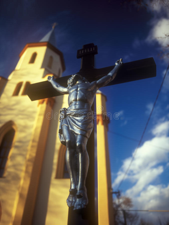Download Crucifixion. stock photo. Image of europe, destinations - 24510104