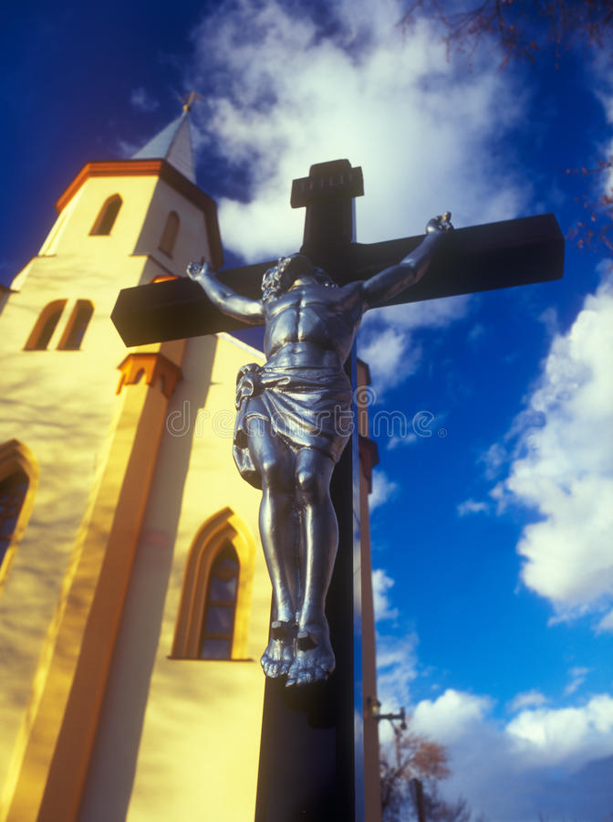 Download Crucifixion. stock image. Image of tourism, religion - 24830481