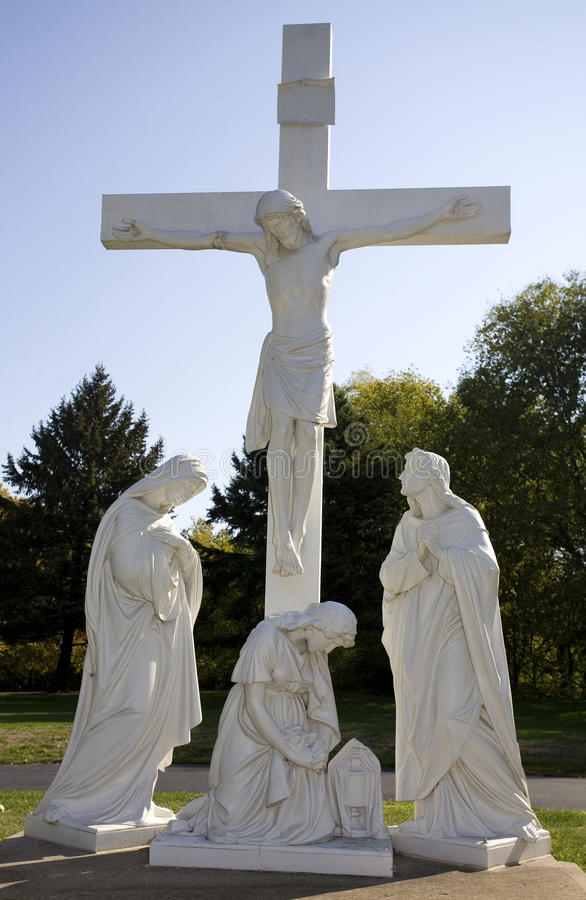 Download Crucifixion fotografering för bildbyråer. Bild av religion - 27278555
