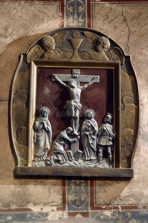 crucifixion fotos de archivo libres de regalías