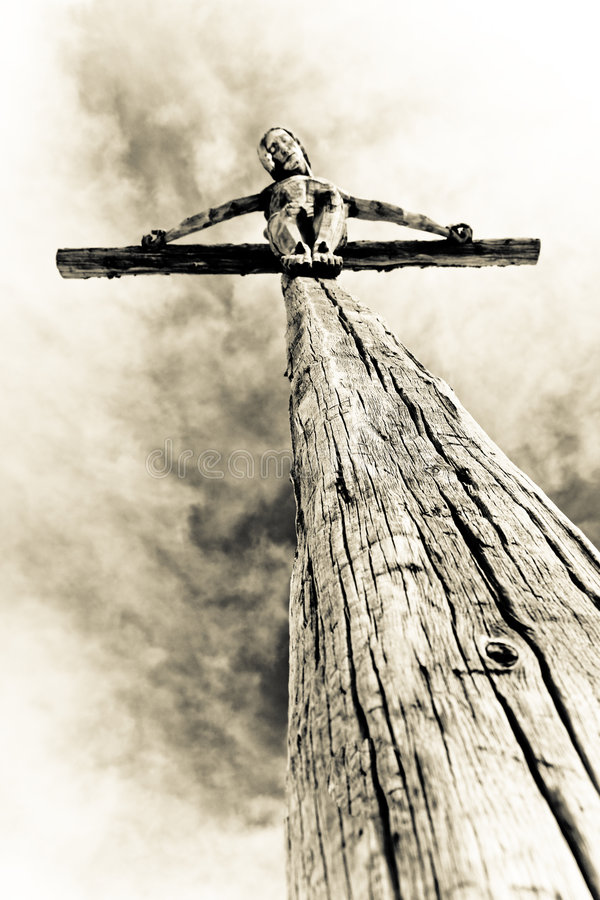 Download Crucifixion photo stock. Image du jésus, lumière, death - 8661602
