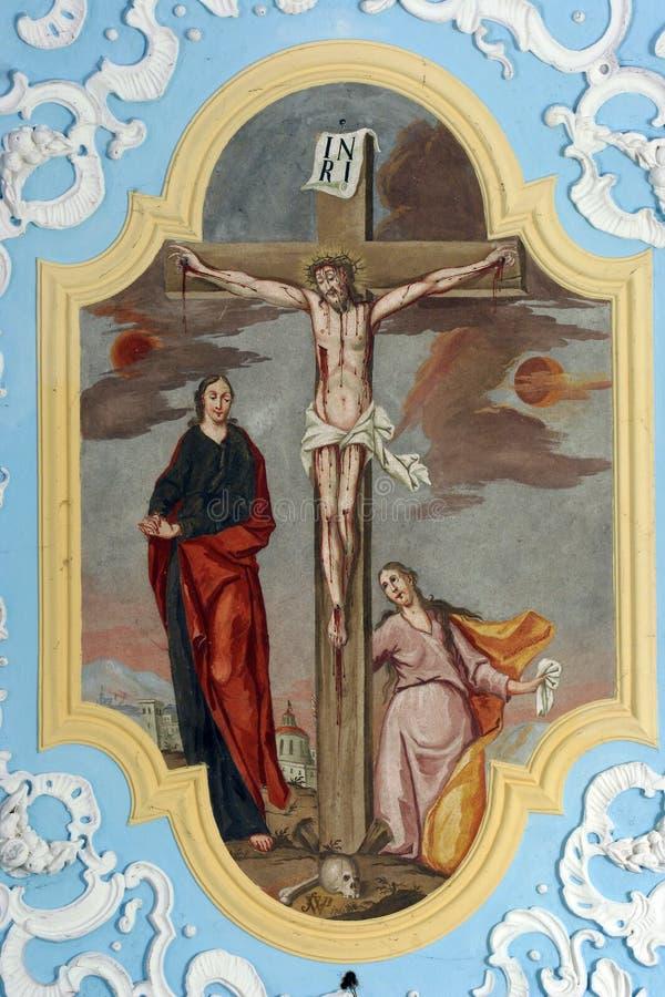 crucifixion стоковое изображение