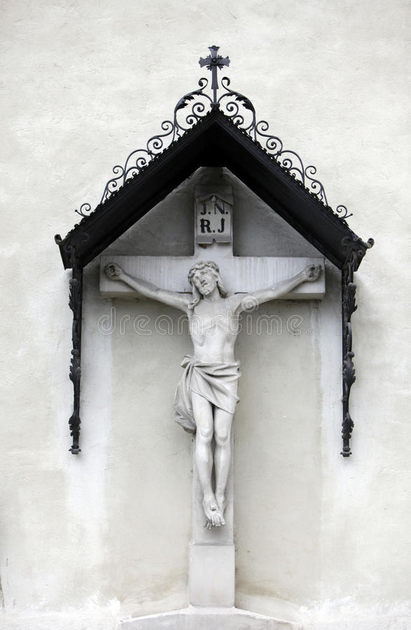 crucifixion stockbild