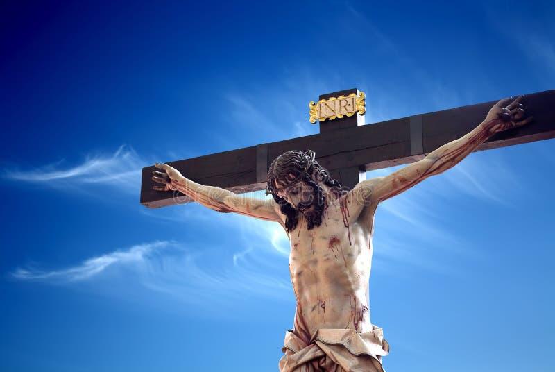 Crucifixion of Jesus royalty free stock image