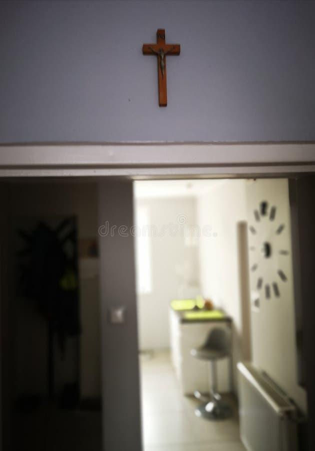 Crucifixos católicos nacionais foto de stock