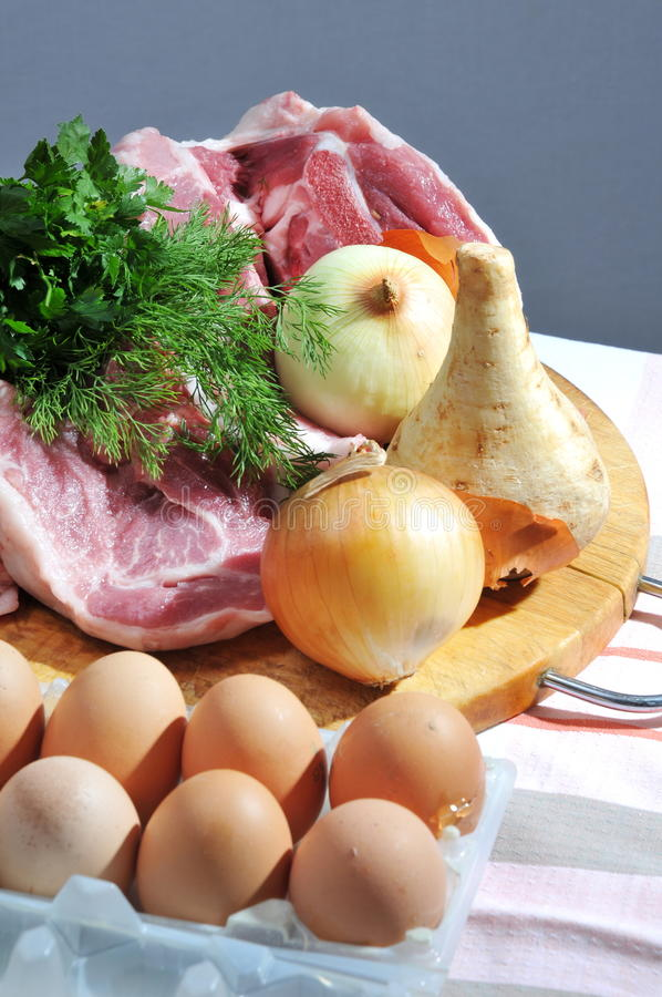 Download Crude Foodstuff. Royalty Free Stock Photography - Image: 18373787