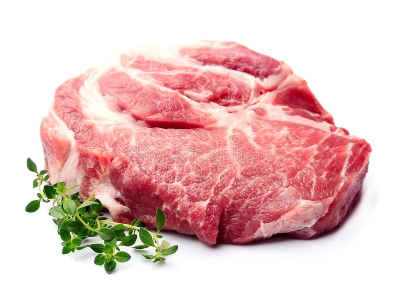 Crude of meat royalty free stock photography