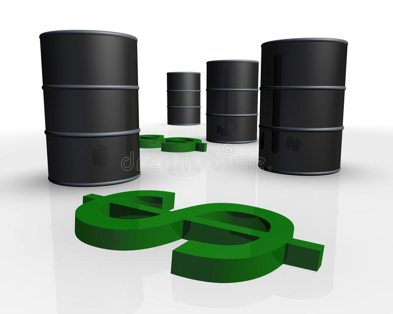 Download Crude oil stock illustration. Image of energy, crude - 26773713
